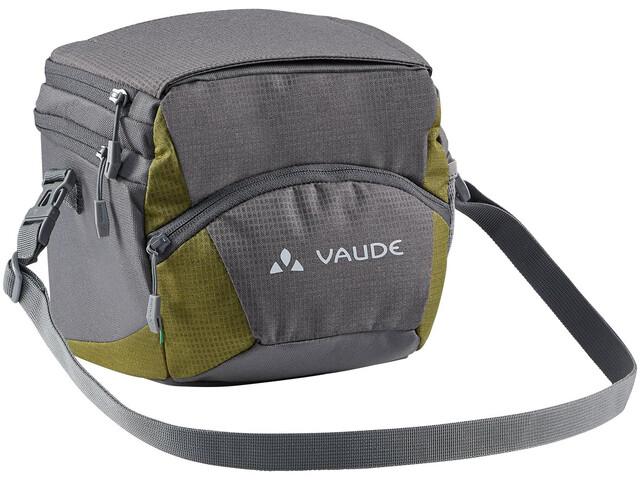 VAUDE OnTour Box M Bag Klickfix ready, grijs/groen